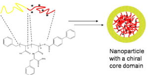 Synthesis of chiral micelles and nanoparticles from amino acid based monomers using RAFT polymerization, J. Skey, R.K. O'Reilly, J. Polym. Sci. Part A, Polym. Chem., 2008, 46, 3690-3702. DOI: 10.1002/pola.22710