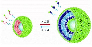 Image of a responsive nanoparticle